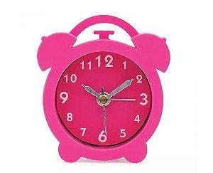 Relógio Despertador - Rosa - Ludi