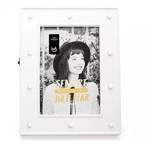Porta Retrato Led Camarim Branco - LUDI- (Grupo Imaginarium )