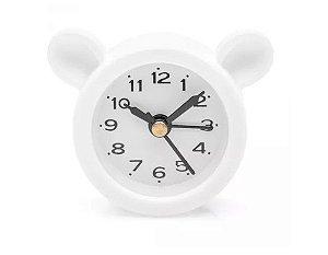 Relógio Despertador AMO PANDA - Branco - LUDI - (Grupo Imaginarium )