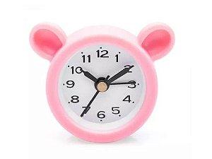 Relógio Despertador AMO PANDA ROSA LUDI - Grupo Imaginarium