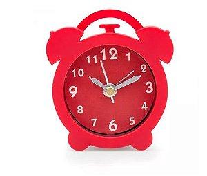 Relógio Despertador VERMELHO LUDI - Grupo Imaginarium