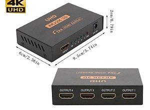 Splitter HDMI 4k | 1 Entrada 4 Saídas