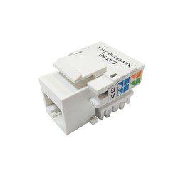 Conector Keystone Cat5 Branco