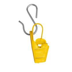 Esticador Cunha Para Cabo Mini Drop E Fio Fe Amarelo