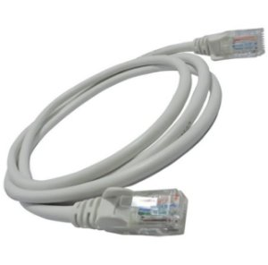 Patch Cord Cat6 Injetado Gigabit Branco 1.50M Panduit