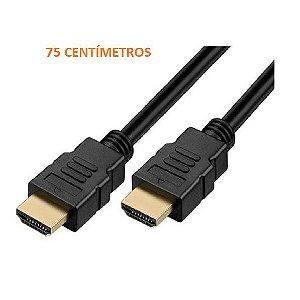 Cabo HDMI 2.0 - UltraHD, 4K - 75 Centímetros - ZK