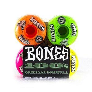 Bones 100s Formula Rodas Skate Importadas 52mm