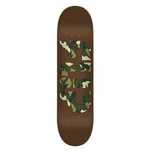 flip shape skate odyssey camo Green - 31.5x8.0 Promoção amigos de flip