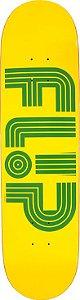 flip shape skate odyssey tube yellow 31.5x7.81 Promoção amigos de flip