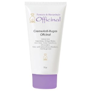 Creme Anti-rugas Officinal