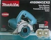 SERRA MÁRMORE  MAKITA 4100 NH3ZX2  COM 2 DISCO 1300W 220V