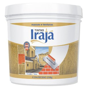 MASSA CORRIDA PVA BALDE 25 KG - IRAJÁ