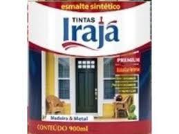 ESMALTE SINTÉTICO  BRILHANTE PRETO 1/4- IRAJÁ