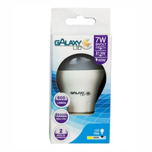 LAMPADA LED BULBO 7 W  BIVOLT- GALAXY LED
