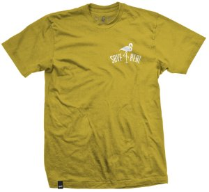 CAMISETA SAVE 4 REAL AMARELO