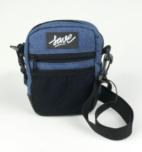 SHOULDER BAG MINI WEB AZUL
