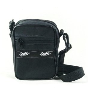 SHOULDER BAG TAG HORIZ MINI PRETA