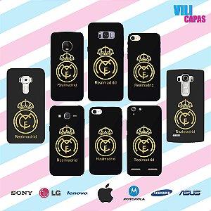 Capinha para celular - Real Madrid
