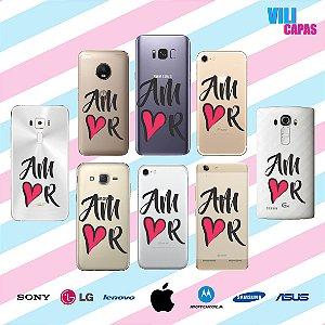 Capinha para celular -  Amor