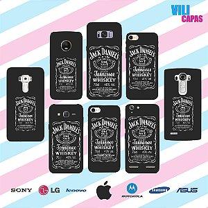 Capinha para celular - Jack Daniels