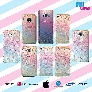 Capinha para celular - Floral Colorido