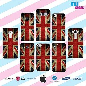 Capinha para celular - Bandeira Inglaterra