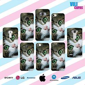 Capinha para celular - Gato