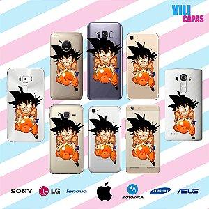Capinha para celular - Goku 2