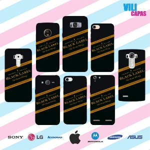 Capinha para celular - Black Label