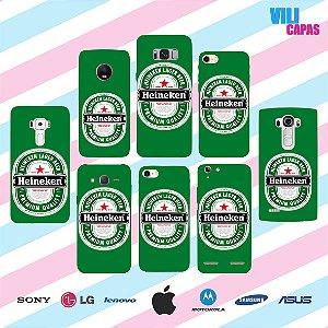 Capinha para celular - Heineken