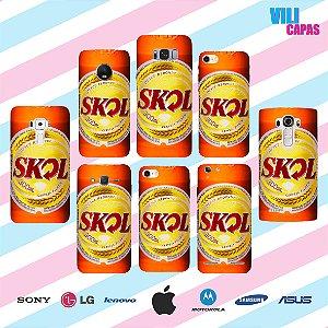 Capinha para celular - Skol