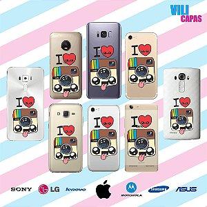 Capinha para celular - I Love Instagram