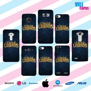 Capinha para celular - League of Legends
