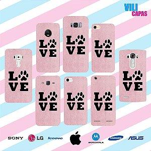 Capinha para celular - Love Pet