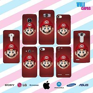 Capinha para celular - Mario