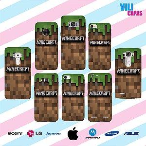 Capinha para celular - Minecraft