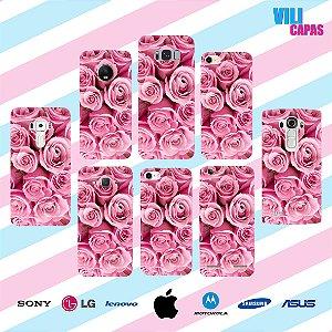 Capinha para celular - Rosas 2