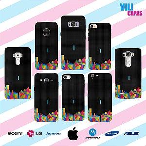 Capinha para celular - Tetris