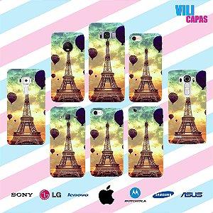 Capinha para celular - Torre Eiffel