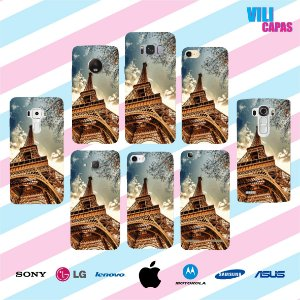 Capinha para celular - Torre Eiffel 2