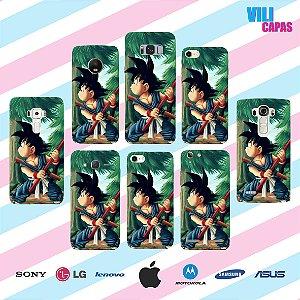 Capinha para celular - Goku 3
