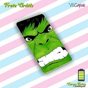 Carregador Portátil Power Bank Slim (10000mAH) - Hulk