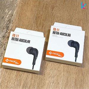 FONE DE OUVIDO  INTRA AURICULAR COM MICROFONE