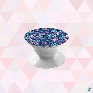 Pop Socket - Flores Azuis