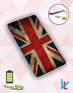 Carregador Portátil - Bandeira Inglaterra