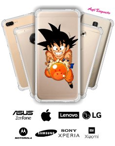 CAPINHA ANTI IMPACTO - DRAGON BALL 3 GOKU