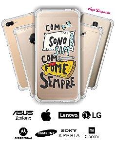 CAPINHA ANTI IMPACTO - COM SONO SIM COM FOME SEMPRE