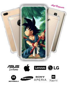 CAPINHA ANTI IMPACTO - GOKU 3 DRAGON BALL