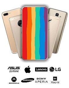 Capinha Personalizada - Arco Íris Colorido