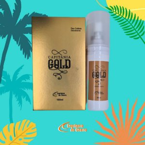 Kit Deo Colônia Cap. Gold 100 ml + Desodorante 90 ml